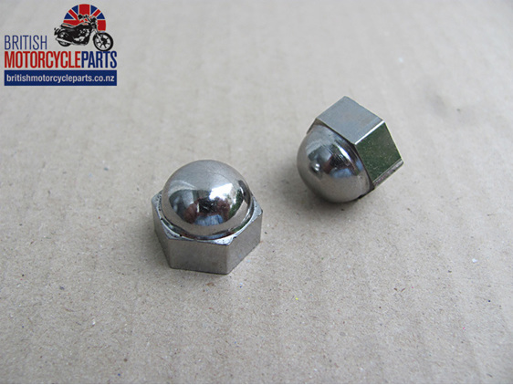 "70-1435 Dome Nut 3/8"" CEI - British Motorcycle Parts Ltd - Auckland NZ"
