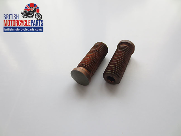 70-1513 Mushroom Tappet Adjusters Triumph T120 T140 BSA A7 A10 CEI Thread