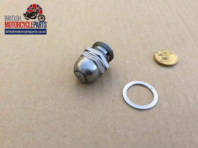 70-2795 Oil Pressure Release Valve - Triumph Pre-Unit - Stainless