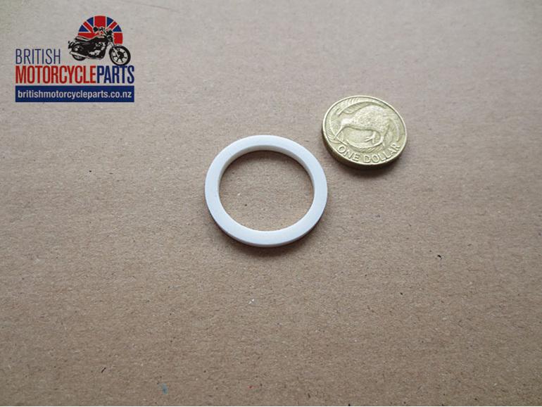 70-3547 Pushrod Tube Seal - White Thin - British Motorcycle Parts Ltd - Auckland