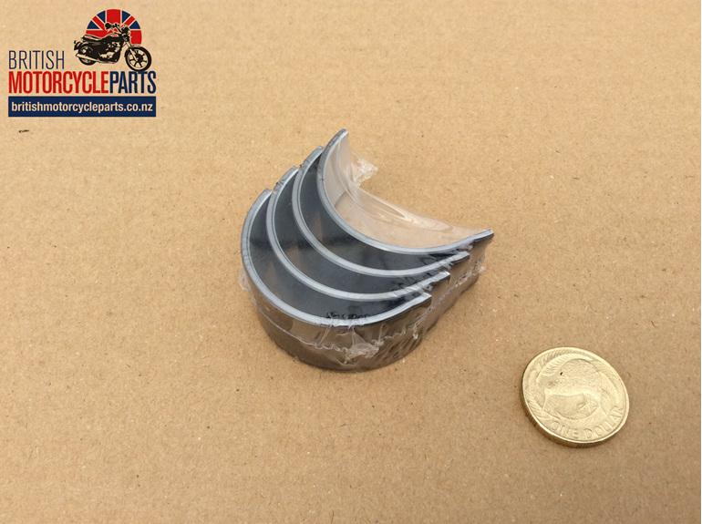 70-3586A/010 Big End Bearings / Crankshaft Shells - 0.010 - British MC Parts NZ