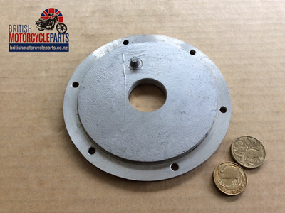 70-3789 Sprocket Cover Plate - 6 Hole - Triumph 5 Speed