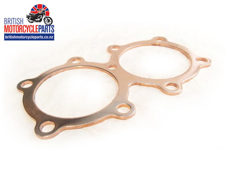 "70-4547/120 Triumph 650cc Copper Head Gasket - .120"""