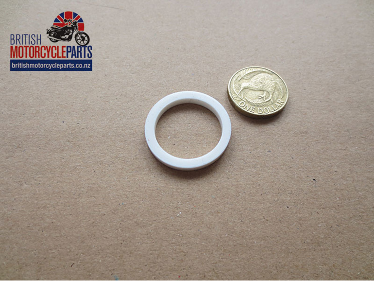 70-4752 Pushrod Tube Seal - White - British Motorcycle Parts Ltd - Auckland NZ