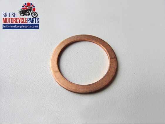 70-5315 Crankcase Filter Copper Washer Sump Bung - British Motorcycle Parts NZ