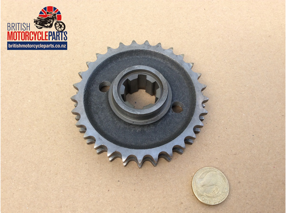 70-5446 Engine Sprocket Triumph 650cc to 1969 - British Motorcycle Parts NZ