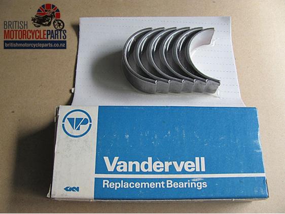 """70-9025 Big End Shell Set 0.030"""" BSA A75 Triumph T150 T160 - British MC Parts"""