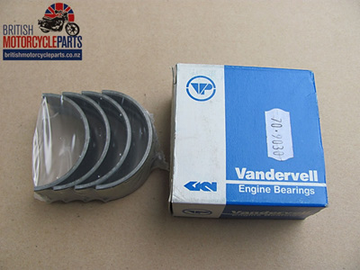 "70-9030 Main Bearing Shells Set -.040""- Triple"