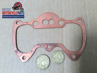 70-9348C Rocker Box Base Gasket - Copper - Triumph 650cc - 70-4549C