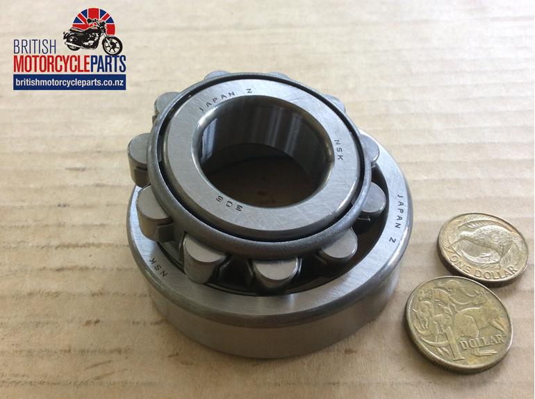 70-9493 Drive Side Crankshaft Roller Bearing - T90 T100 1969-74 - British Parts