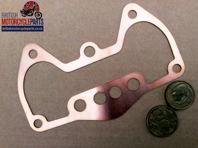 70-9511C Copper Rockerbox Base Gasket - Triumph 350/500 - 70-3743