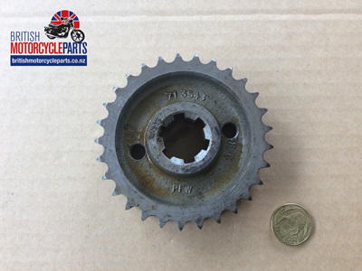 71-3542 Engine Sprocket 29T Triplex - T140