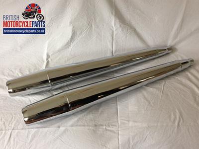 71-4159 Mufflers - Triumph TR7 T140 & T150 1974-