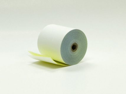 76MM X 76MM 2 PLY PRINTER ROLLS X 50