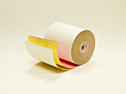 76MM X 76MM 3 PLY PRINTER ROLLS X 50