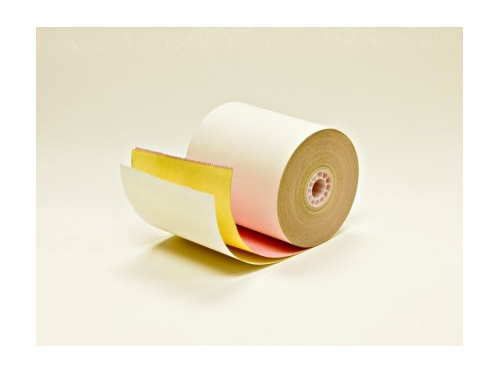 76mm X 76mm 3 Ply Printer Rolls X 50 Positive Systems
