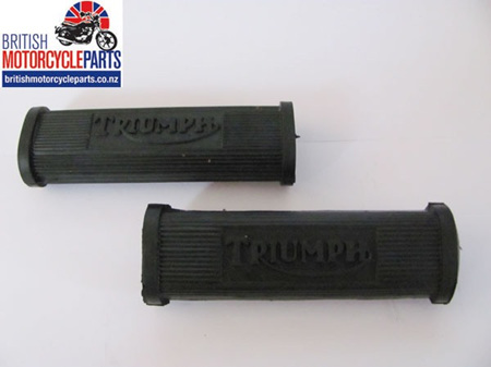 82-1695 Pillion Footrest Rubbers - Triumph - PAIR