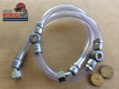 82-8133 Fuel Line Assembly - Triumph 650cc 1968-70