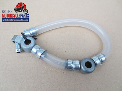 82-9269 - Petrol Pipe Assembly - Triumph T100T 1968-74