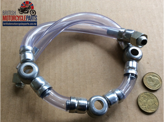 82-9436 Fuel Line Assembly - Triumph T160 Trident- British Motorcycle Parts - NZ