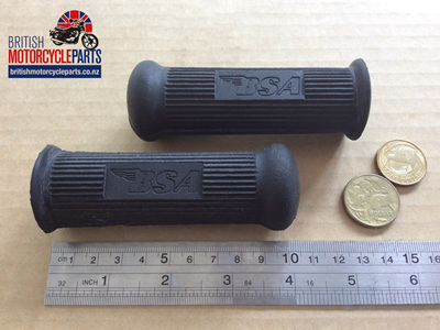 82-9603 BSA Pillion Footrest Rubber Long - PAIR