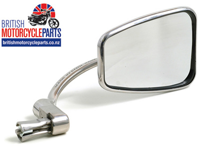 820 Halcyon Bar End Mirror - Rectangular - Stainless