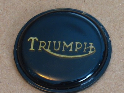 83-8656B Triumph Petrol Tank Centre Badge