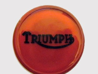 83-4776R Triumph Petrol Tank Centre Badge