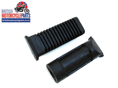 83-7256 83-7259 Riders Footrest Rubbers 750cc 1979on - Pair