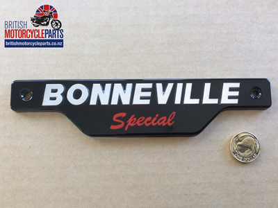 83-7357 Bonneville Special Side Cover Badge - T140D