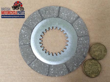 90-1318 90-0034 Clutch Friction Plate - BSA Bantam