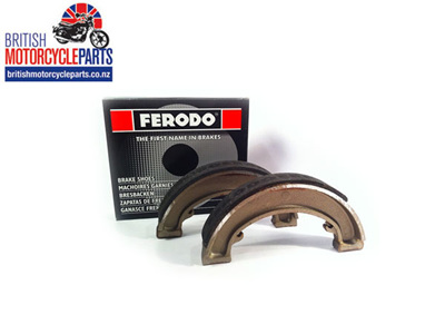 90-5719 37-0977 Brake Shoes BSA Bantam D7 D10 D14 - Tiger T20