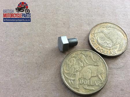 "97-0519 Fork Oil Plug 2BA x 1/4"""