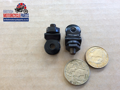 97-0741 Front Registration Plate Clip Assembly - PAIR