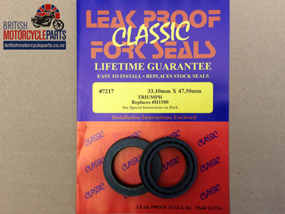 97-1500LP Fork Seal Kit - Leak Proof - Pair