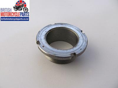 97-2091 Fork Bottom Bearing Nut - Triumph 1968-70