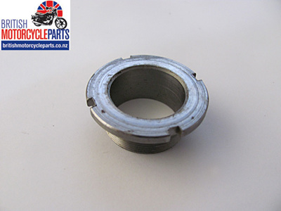 97-2091 Fork Bottom Bearing Nut - Triumph 1968-70