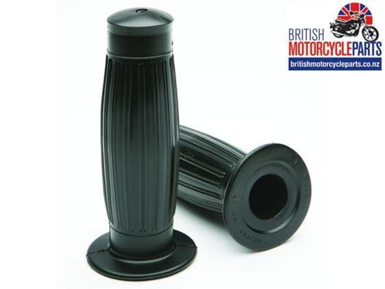 97-2124 Beston Type Handlebar Grips Triumph BSA Norton Handle bar grips