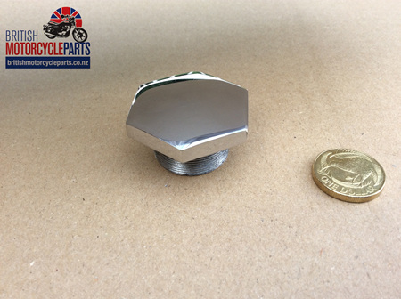 97-2245SS Fork Stanchion Nut - Stainless Steel