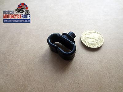 97-2270S Plastic Cable Retainer - Black Split