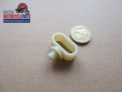 97-2270W Plastic Cable Retainer - White