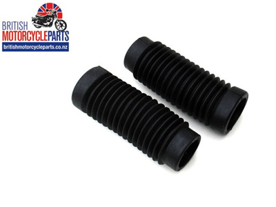 97-2513 Fork Gaitors BSA Triumph - Pair