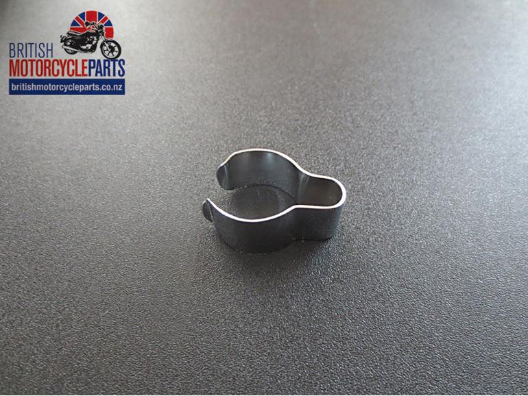 "97-4112 Chrome Handlebar Clip 7/8"" Handlebars - BSA Norton Triumph"