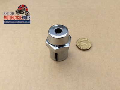 97-4159 Steering Stem Nut - Damper Hole - T150 1971