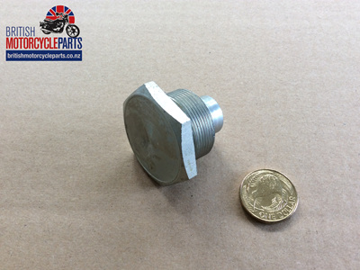 97-4258 Fork Stanchion Top Nut - BSA Triumph - Conical