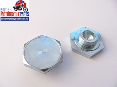 97-4395 Stanchion Top Nut Triumph Disc