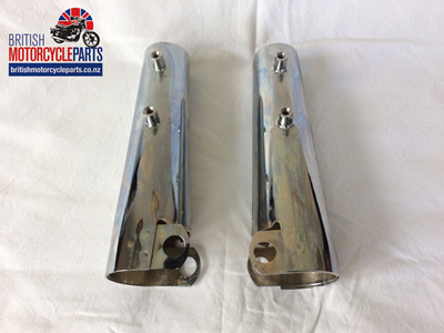 97-4502 97-4503 Headlight Brackets T100 1973-74