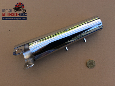97-4557 Chrome Fork Cover LH - T160 T150