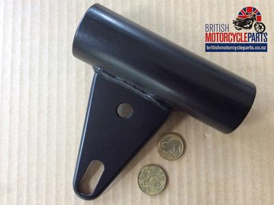 97-7114 Fork Cover Headlight Bracket LH - T140 TSS TR65