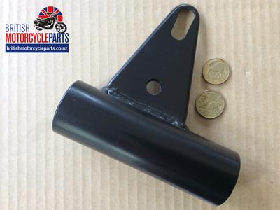 97-7115 Fork Cover Headlight Bracket RH - T140 TSS TR65